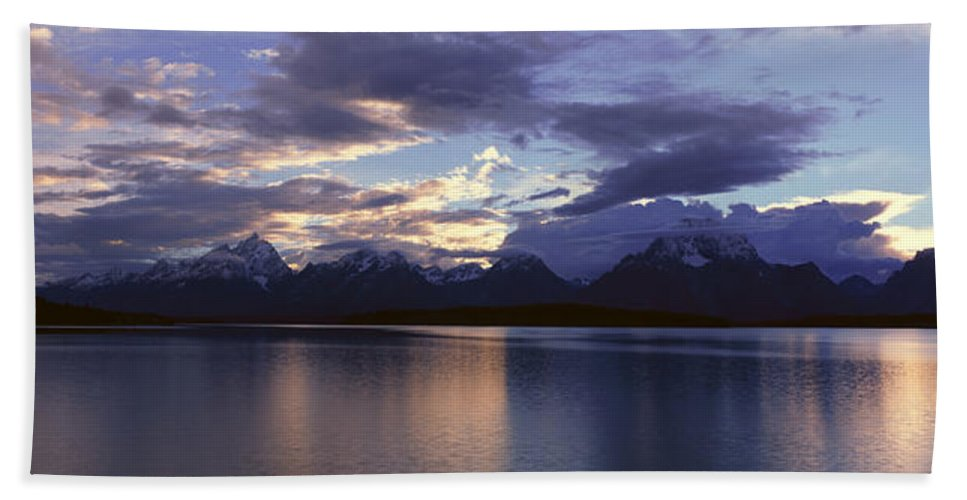 Photography Bath Sheet featuring the photograph Jenny Lake, Grand Teton National Park by Panoramic Images