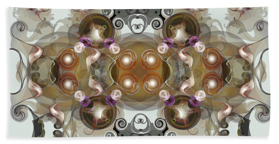 Jewels Bath Sheet featuring the digital art Jewels2 by George Pasini