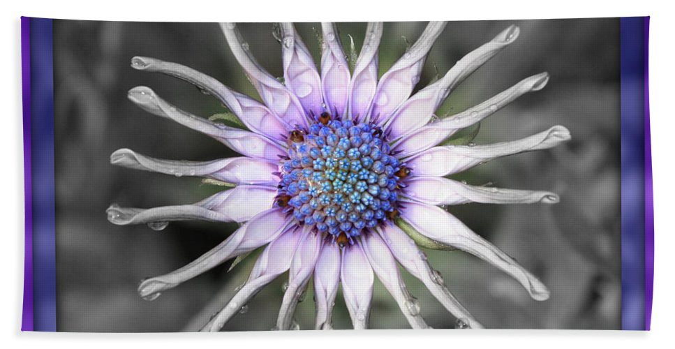 Digital Art Hand Towel featuring the photograph Joy Within by Carol Groenen