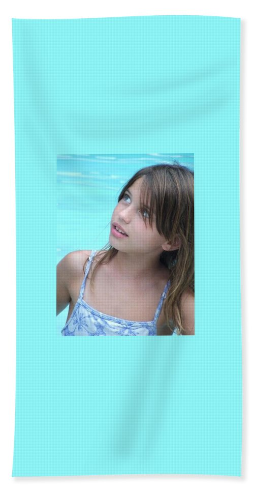 Bath Sheet featuring the photograph Julz by Michelle S White