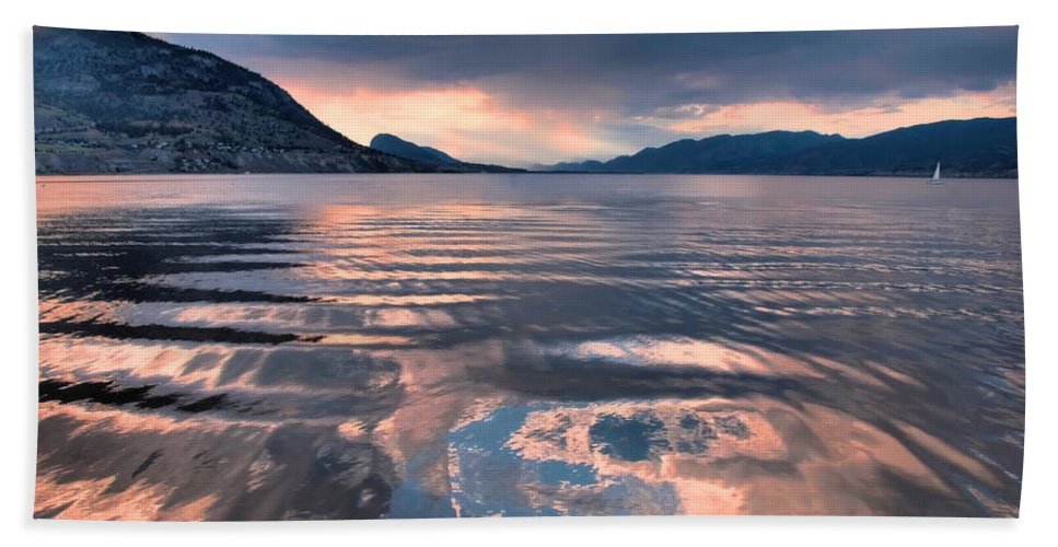 Sunset Hand Towel featuring the photograph June 22 2010 by Tara Turner