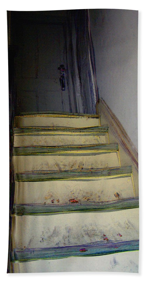 Antiquated Bath Towel featuring the digital art Just A Little Rickety by RC DeWinter