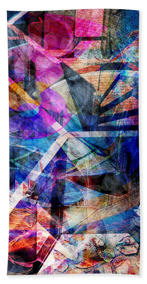 Just Not Wright Hand Towel featuring the digital art Just Not Wright by John Beck
