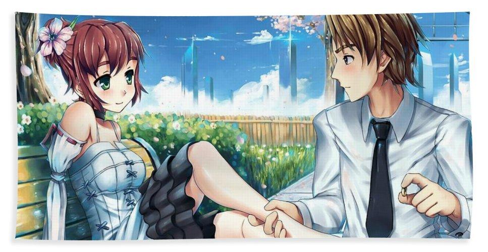 Katawa Shoujo Hand Towel For Sale By Dorothy Binder
