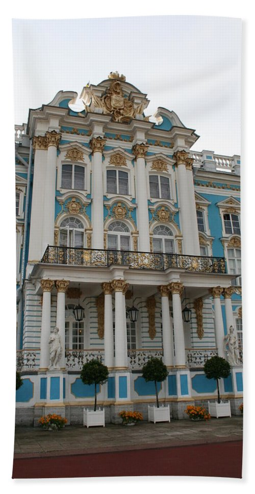 Palace Hand Towel featuring the photograph Katharinen Palace I - Russia by Christiane Schulze Art And Photography