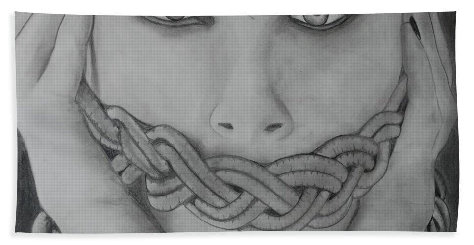 Art Bath Sheet featuring the photograph Keltic Silence by Rob Hans