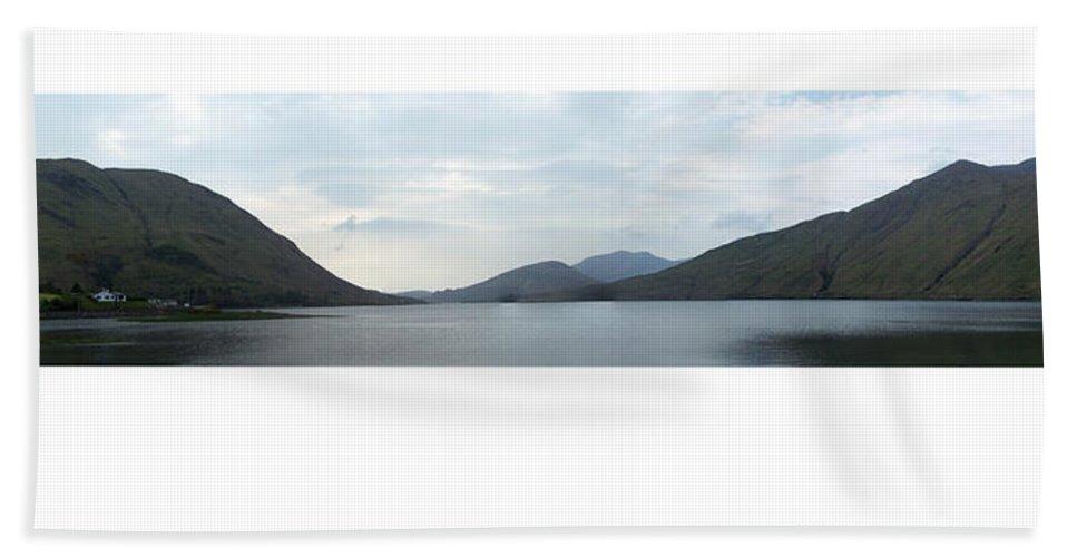 Landscape Bath Towel featuring the photograph Killary Harbour Leenane Ireland by Teresa Mucha