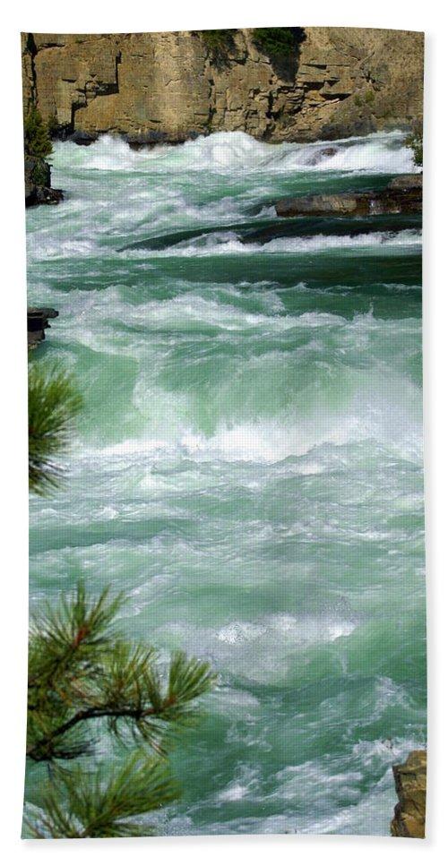 Kootenai River Bath Sheet featuring the photograph Kootenai River by Marty Koch