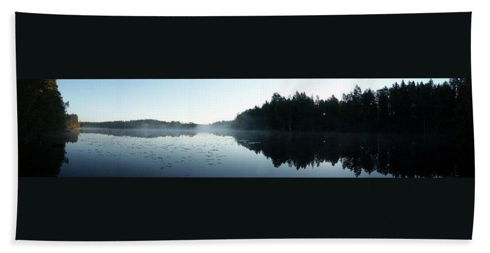Lehtokukka Hand Towel featuring the photograph Koverolampi 2 by Jouko Lehto