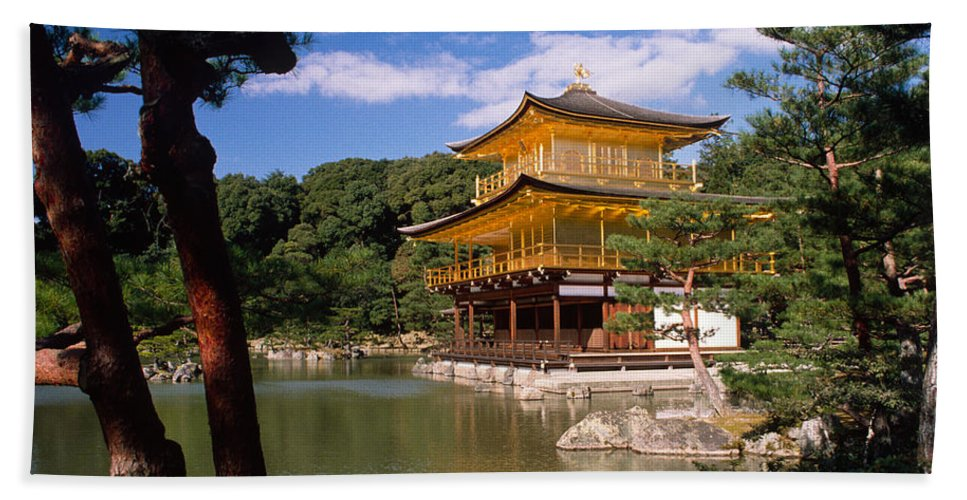Asia Hand Towel featuring the photograph Kyoto by Michele Burgess