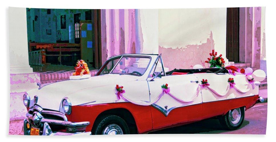 La Princesa Bath Sheet featuring the mixed media La Princesa by Dominic Piperata