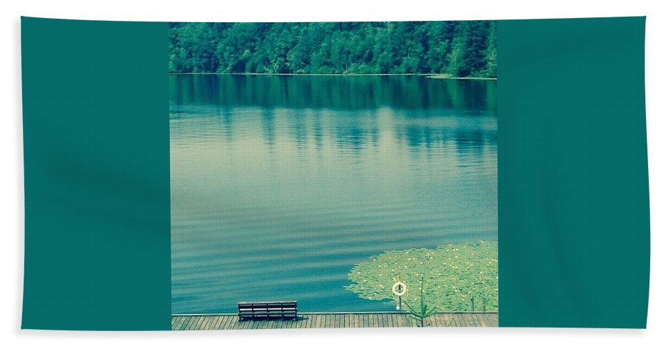 Lake Hand Towel featuring the photograph Lake by Andrew Redford