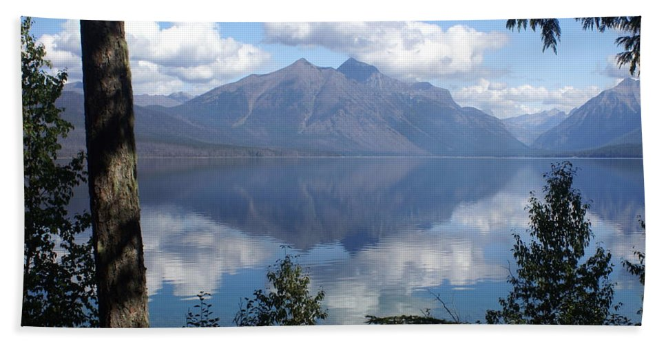 Lake Hand Towel featuring the photograph Lake Mcdonald Glacier National Park by Marty Koch