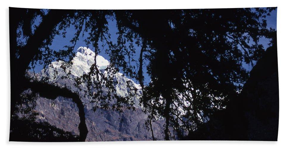 Langtang Hand Towel featuring the photograph Langtang by Patrick Klauss