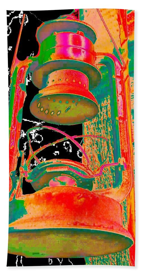 Lantern Hand Towel featuring the photograph Lantern by Tim Allen