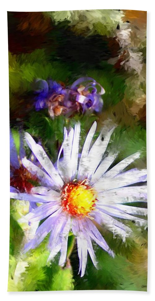 Flower Bath Sheet featuring the photograph Last Rose Of Summer by David Lane