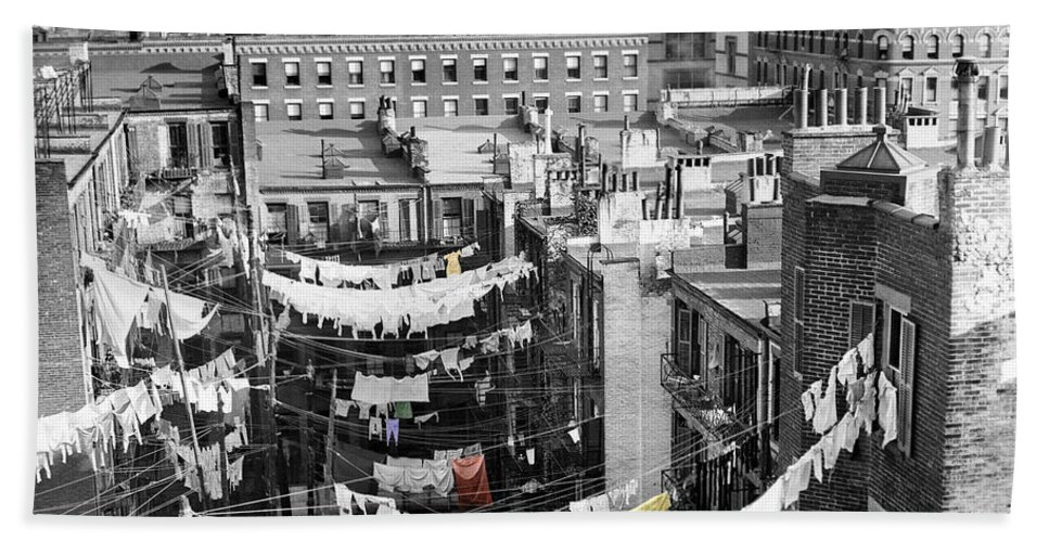 Laundry Hand Towel featuring the photograph Laundry Day by Andrew Fare