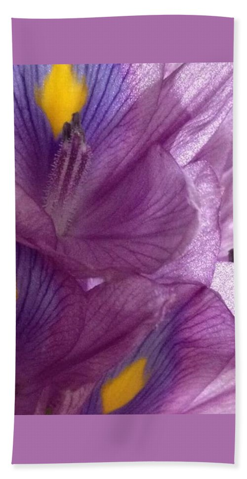 Culebra Flowers Bath Sheet featuring the photograph Layers by Sarah Horton
