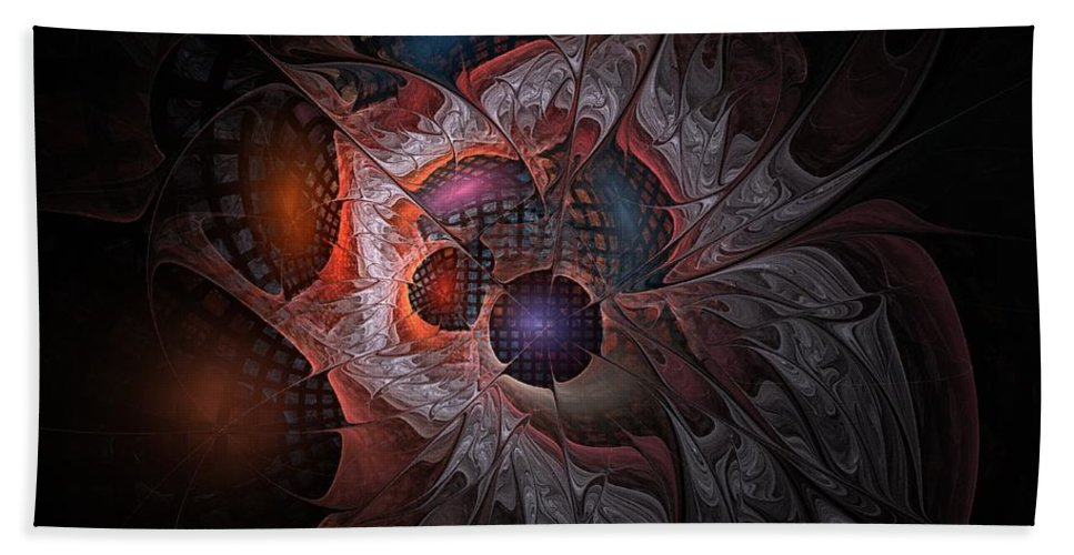 Lazarus Bath Sheet featuring the digital art Lazarus Eleven by NirvanaBlues