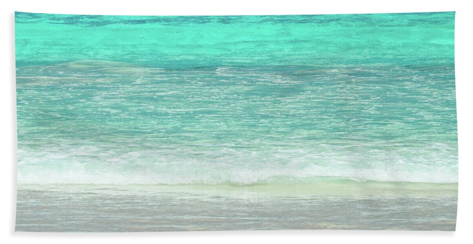 Andrew Mcinnes Hand Towel featuring the photograph Le Grand Beach 2am-005682 by Andrew McInnes