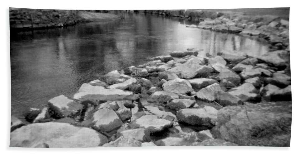 Photograph Hand Towel featuring the photograph Le Tort Spring Run by Jean Macaluso