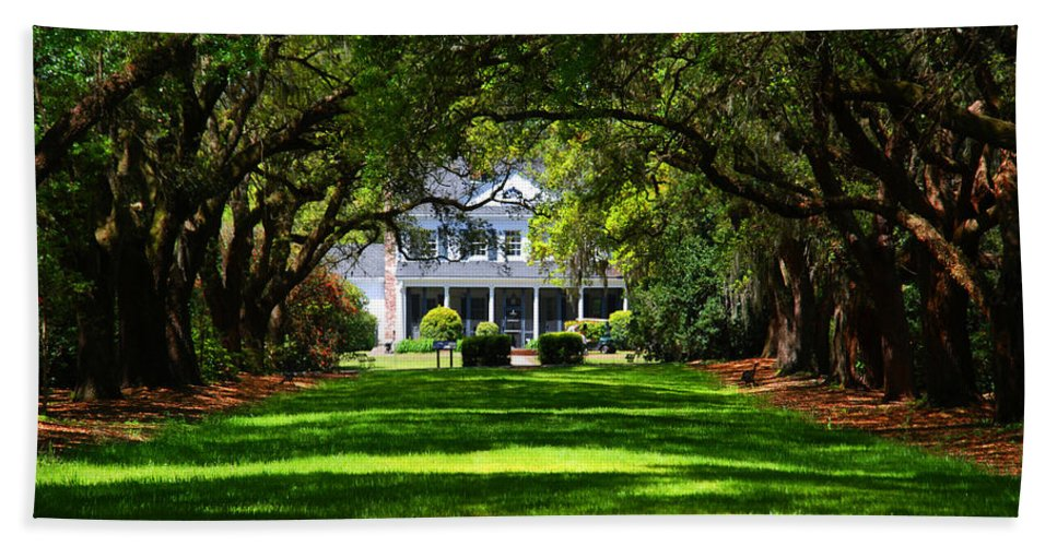 Photography Bath Sheet featuring the photograph Legare Waring House Charleston Sc by Susanne Van Hulst