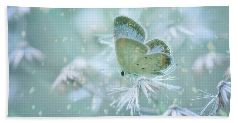 Art Bath Sheet featuring the photograph Let The Winter Gone by Setiady Wijaya