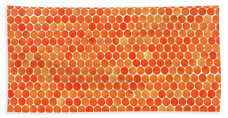 Polka Dot Hand Towel featuring the photograph Let's Polka Dot by Iryna Goodall
