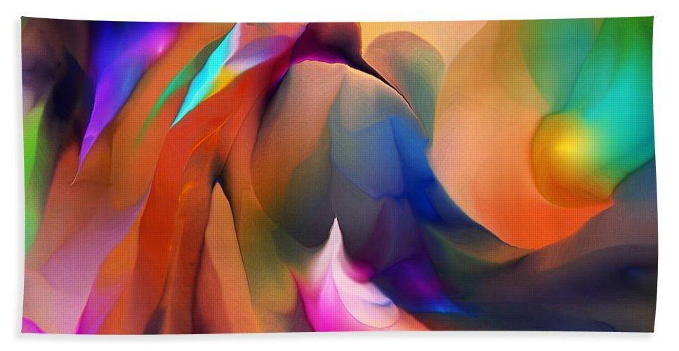 Fine Art Hand Towel featuring the digital art Letting Go by David Lane