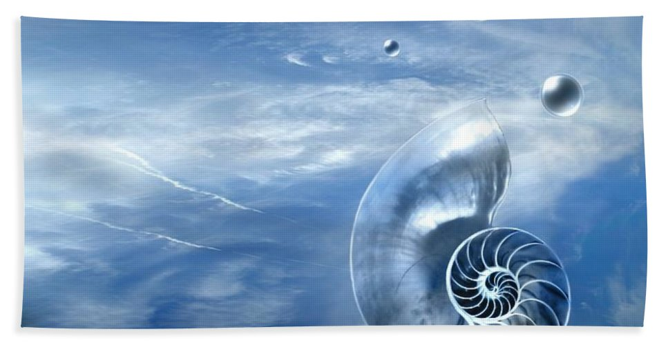 Surreal Hand Towel featuring the photograph Life by Jacky Gerritsen