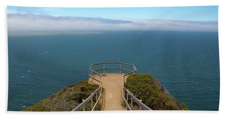 Muir Lookout Bath Sheet featuring the photograph Life's Lookout by Susan Wright