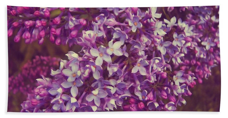 Lilac Bath Sheet featuring the photograph Lilacs by JAMART Photography