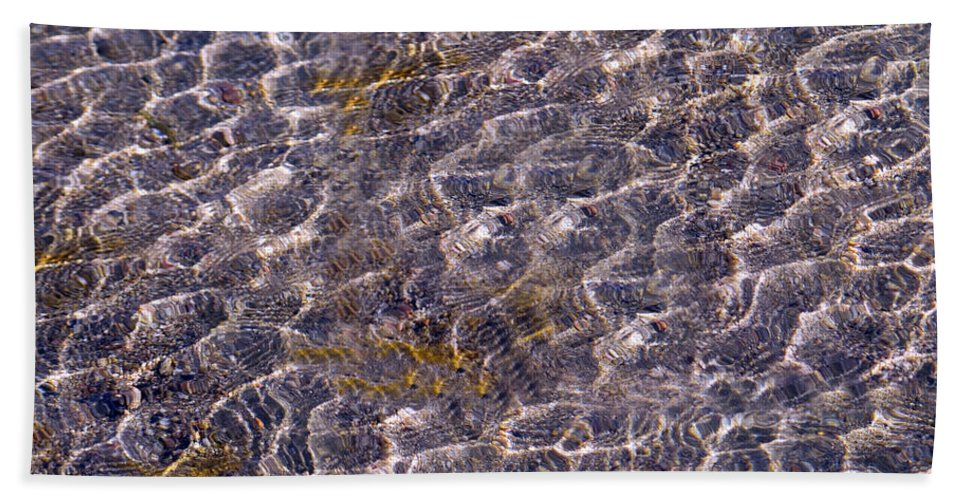 Lake Bath Sheet featuring the photograph Lilly Lake by Mark Ivins