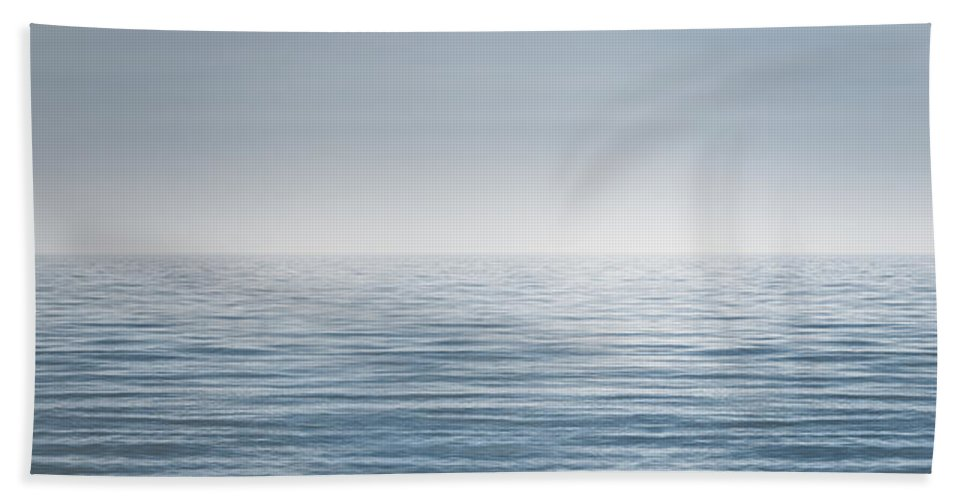Water Bath Towel featuring the photograph Limitless by Scott Norris