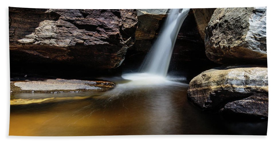 Arizona Hand Towel featuring the photograph Liquid Gold by Dennis Swena