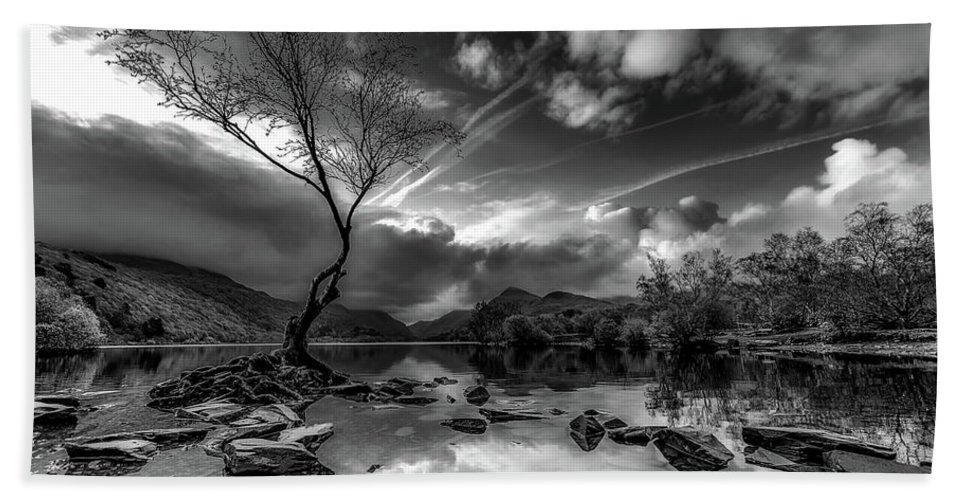 Llanberis Hand Towel featuring the photograph Llanberis, Wales by Unsplash