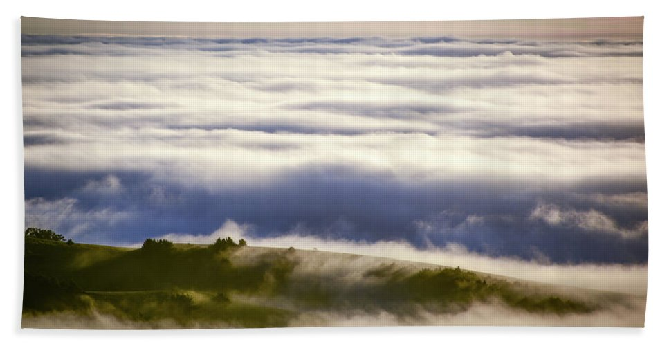 Fine Art Bath Sheet featuring the photograph Lonely Cow by Travis Elder