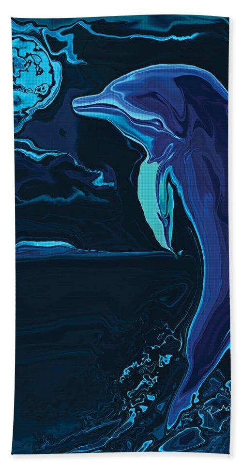 Animal Bath Sheet featuring the digital art Lonely Tonight by Rabi Khan