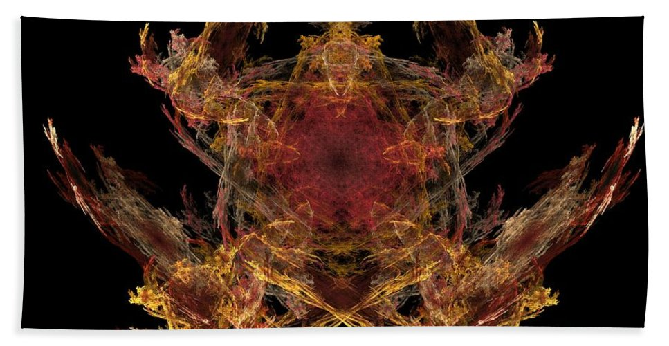 Fantasy Hand Towel featuring the digital art Lord Of The Flies by David Lane