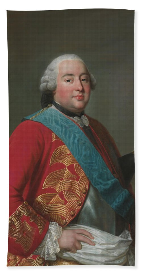 Swedish Artist Hand Towel featuring the painting Louis Philippe D'orleans As Duke Of Orleans by Alexander Roslin