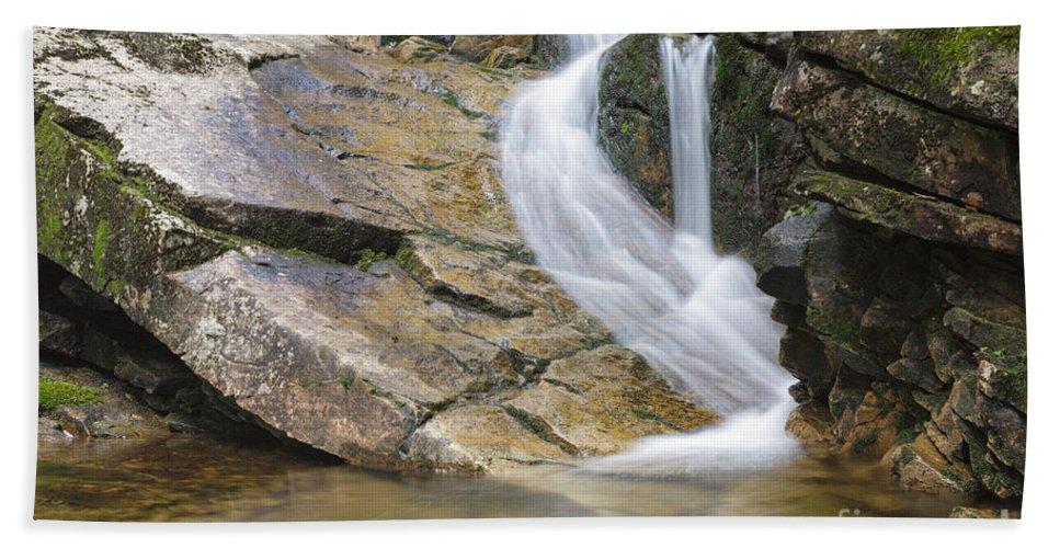 Louisville Brook Bath Sheet featuring the photograph Louisville Brook - Bartlett New Hampshire Usa by Erin Paul Donovan