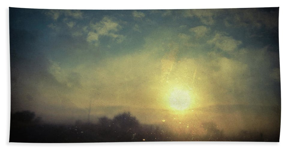 Fog Hand Towel featuring the photograph Lovelorn by Zapista