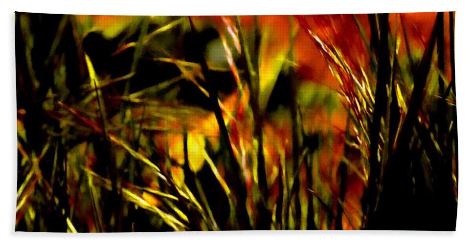 Art Hand Towel featuring the photograph Loving The Warmth by Steve Taylor