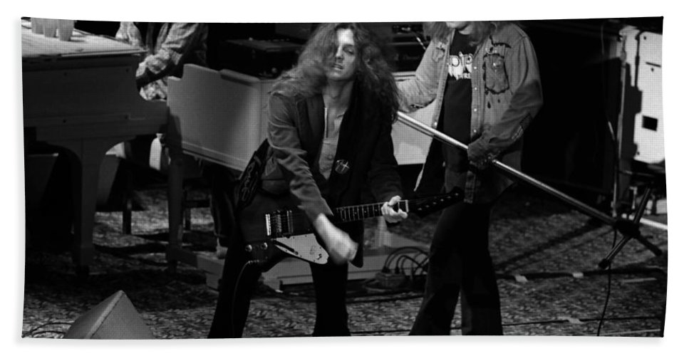 Lynyrd Skynyrd Hand Towel featuring the photograph Ls #42 Crop 2 by Ben Upham