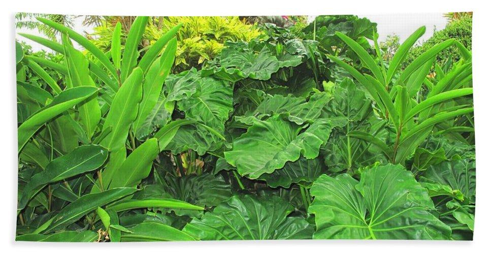 Vegetation Bath Towel featuring the photograph Lust Too by Ian MacDonald