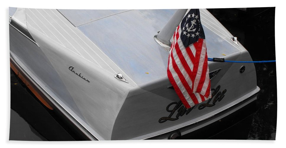 Powerboat Hand Towel featuring the photograph Century Arabian by Neil Zimmerman