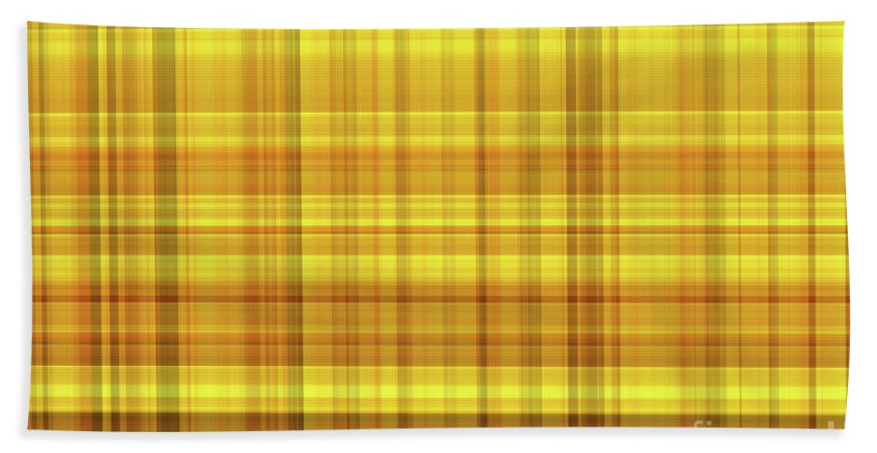 Abstract Hand Towel featuring the digital art Macleod by Eddie Barron
