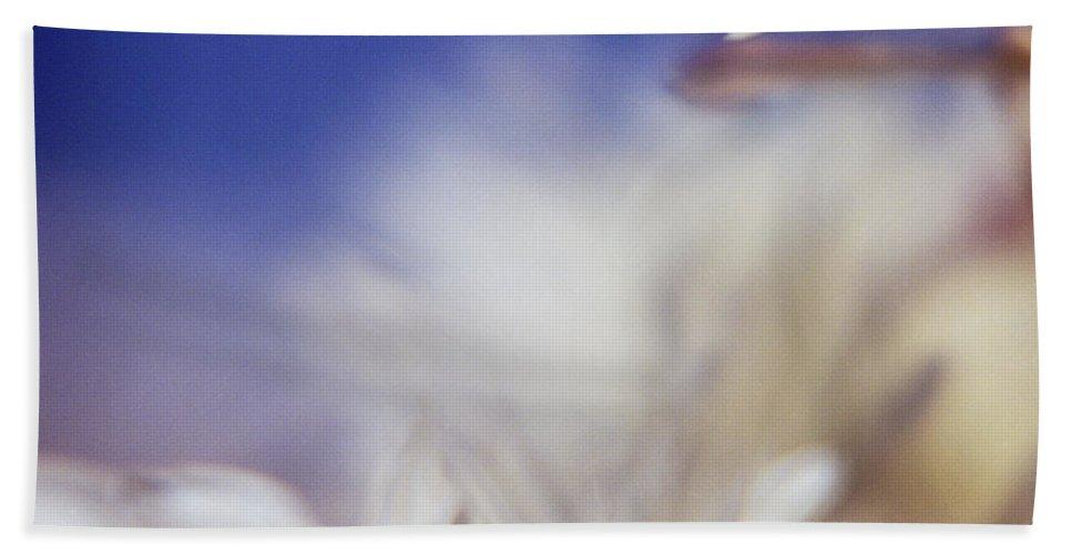 Flower Bath Towel featuring the photograph Macro Flower 1 by Lee Santa