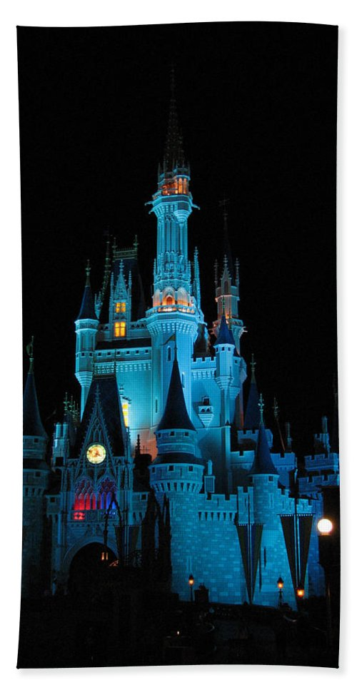 Disney Hand Towel featuring the photograph Magic Kingdom by Stacey May