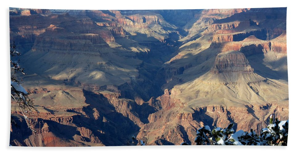 Grand Canyon Bath Sheet featuring the photograph Majestic Grand Canyon by Laurel Powell